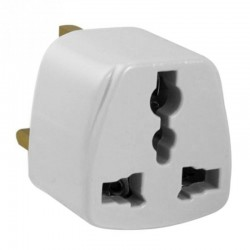 Akyga Travel Adapter AC AK-AD-59 US / AU / UE to UK white